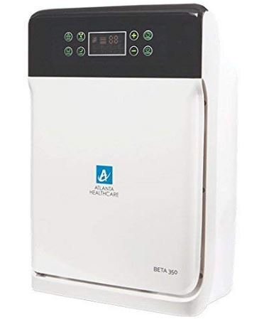 Atlanta Healthcare 7-Stage 43-Watt Air Purifier With Hepa, Ionizer, Anti-Bacterial Filter, Activated Carbon