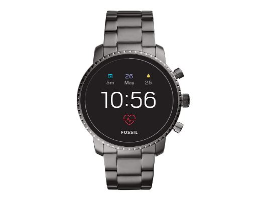 Fossil Gen 4 Touchscreen Men's Smartwatch with Heart Rate, GPS, Music storage and Smartphone Notification
